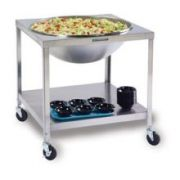 Lakeside Stainless Steel Mobile Mixing Bowl Stand, 33 1/4 x 33 1/4 x 33 inch -- 1 each.