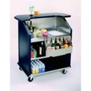Lakeside Geneva Stainless Steel Interior with Laminate Exterior Finish Portable Bar, 27 3/4 x 43 x 45 inch -- 1 each.
