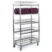 Lakeside Stainless Steel Dome Drying Rack, 100 Dome Capacity -- 1 each.