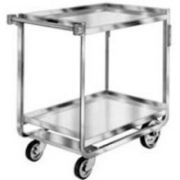 Lakeside Traditional Series Stainless Steel Tough Transport Traditional Utility Cart with 2 Shelves, 21 x 49 inch Shelf -- 1 each.