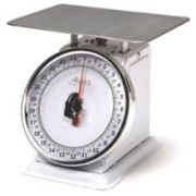 Alegacy Rotating Dial Portion Control Scale - Stainless Steel Body Finish, 2 Pound Capacity -- 1 each.
