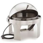 Alegacy Electric Savoir Full Size Dome Cover Electric Chafer, 25 1/2 x 17 7/8 x 18 inch -- 1 each.