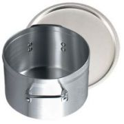 Alegacy Eagleware The Point Two Five Line Heavy Duty 2 Gauge Aluminum Sauce Pot with Cover, 14 Quart -- 1 each.