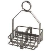 Alegacy Chrome Plated Wire Rack Only, 7 5/8 x 6 3/4 x 3 inch -- 1 each.