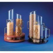CalMil 4 Cylinder Turntable Cereal Dispenser, 12 x 20 inch -- 1 each.