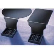 CalMil Round Base Edge of Table Drip Tray -- 2 per case.