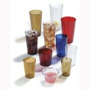 Amber San Stackable Tumbler Large Pack 5 Ounce -- 72 per case