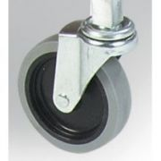 Carlisle Swivel Replacement Caster Only, 4 inch -- 1 each.