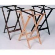 Gaychrome Deluxe Wood Tray Stand, 30 inch Height -- 1 each.