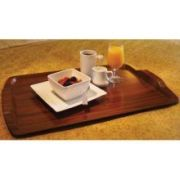Cambro Hotel Room Service Tray, Brushed Steel, 15 1/2 x 25 inch -- 12 per case.