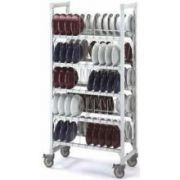 Cambro Camshelving Stainless Steel Dome Drying Cradle, 17 3/4 x 10 x 16 inch -- 1 each.