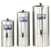 Cecilware S Series Stainless Steel Iced Tea Dispenser, 9.25 inch Diameter x 24.75 inch -- 1 each.