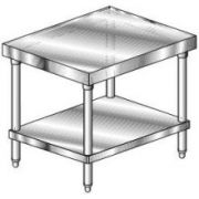 Aero Mixer Stand with Stainless Steel Leg and Undershelf - 14 Gauge, 30 inch Wide -- 1 each.