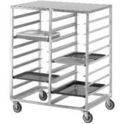 Channel Manufacturing Aluminum Tray Delivery Rack, 54 x 45 x 30 inch -- 1 each.
