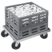 Channel Manufacturing Aluminum Glass Rack Dolly, 7 1/2 x 44 x 22 inch -- 1 each.
