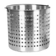 Thunder Group Aluminum Steamer Basket, 12 Quart -- 1 each.