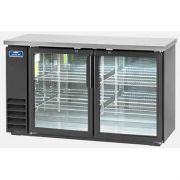 Arctic Air Back Bar Refrigerator with Two Glass Door, 60 inch -- 1 each.