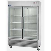 Arctic Air Two Door Glass Exterior Reach-In Refrigerator, 54.0 x 31.25 x 83.25 inch -- 1 each.