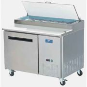 Arctic Air One Door Pizza Prep Table, 47.50 x 32.25 x 41.00 inch -- 1 each.