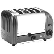 Cadco Heavy Duty KoverTec Mica 4-Slot Toaster, 13 1/2 x 9 x 8 inch -- 1 each.