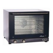 Cadco Stainless Steel Anna Half Size Compact Convection Oven, 23.63 x 18.63 x 23.75 inch -- 1 each.