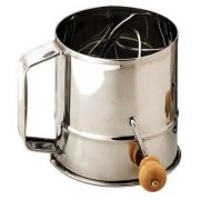 Alegacy Stainless Steel Flour Sifter, 1 1/2 Pound -- 1 each.
