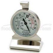 Alegacy Dial Refrigerator and Freezer Thermometer, 2 3/4 inch Height -- 1 each.