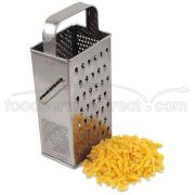 Alegacy Stainless Steel Square Grater, 9 1/2 inch Height -- 1 each.
