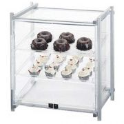 Cal Mil Silver Single Serve One by One Display Case, 20.5 x 17 x 21.875 inch -- 1 each.