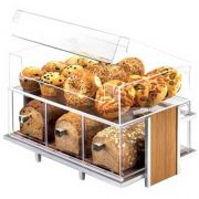 Cal Mil 3 Drawer Bread Box for 1471, 19 x 13 x 6 inch -- 1 each.