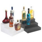 Cal Mil Classic Graphite Bottle Display, 12 x 13 x 6.75 inch -- 1 each.