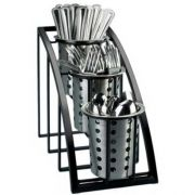 Cal Mil Mission Black Vertical 3 Tier Display, 7 x 13 x 10.75 inch -- 1 each.
