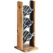 Cal Mil Madera 3 Tier Vertical Cylinder Display, 7.25 x 7.75 x 20.5 inch -- 1 each.