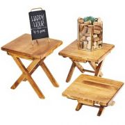 Cal Mil Madera Large Tabletop Riser, 10 x 10 x 10.75 inch -- 1 each.