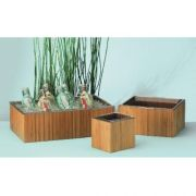 Cal Mil Eco Smart Bamboo Ice Housing, 10 x 12 x 8 inch -- 1 each.