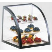 Cal Mil Black Euro Metal Iron Display Case, 16 x 16.5 x 16.5 inch -- 1 each.