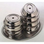 American Metalcraft Stainless Steel Cover Only -- 24 per case
