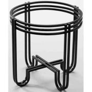 American Metalcraft Wrought Iron Juice Dispenser Base Only -- 4 per case.
