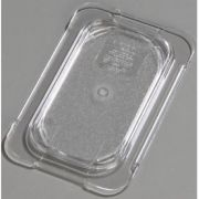 Carlisle Polycarbonate Clear Universal Flat Lid Only, 6 3/4 x 4 1/4 inch -- 1 each.