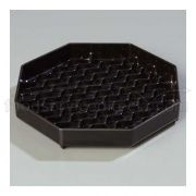 Black Patented NeWave Octagon Drip Tray 6 inch -- 1 each