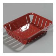 Red Stackable Munchie Basket 7 7/8 x 10 3/8 inch -- 1 each