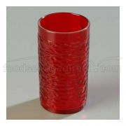 Ruby Thick-Walled Pebble Optic Tumbler 9 1/2 Ounce -- 1 each