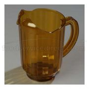 Amber Lip Design Versa Pour Pitcher - 60 Ounce with Ergonomic Handle -- 1 each