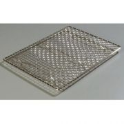 Carlisle Chrome Plated Steel Wire Mesh Icing Grate Only, 17 x 11 inch -- 1 each.