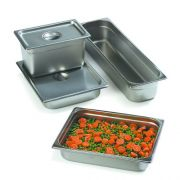 Carlisle DuraPan 18-8 Stainless Steel One Quarter Size Solid Cover Only -- 1 each.
