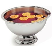 10 Quart 18-8 Stainless Steel Punch Serving Bowl -- 1 each