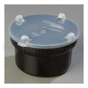 Black Gourmet Bowl with Lid -- 1 each