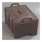 Brown Cateraide Insulated Combination Pan Carrier 24 Quart Top Loader 8 inch -- 1 each