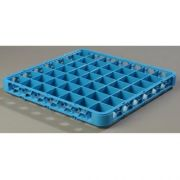 Carlisle Polypropylene Carlisle Blue 49 Compartment Divided Extender Only, 1.5 inch Height -- 1 each.