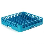 Carlisle Polypropylene Carlisle Blue OptiClean Tall Peg Plate and Tray Rack, 3.2 inch Inside Height -- 1 each.